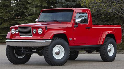 jeep wrangler pickup concept jeep revives forward control gladiator pickups in easter