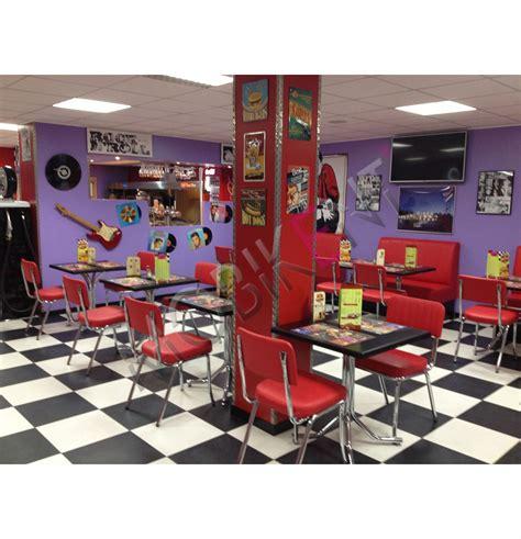 mobilier cuisine vintage agencement d 39 un restaurant diner retro dans le nord pas de