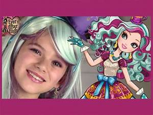 Ever After High Madeline Hatter Makeup Tutorial ...
