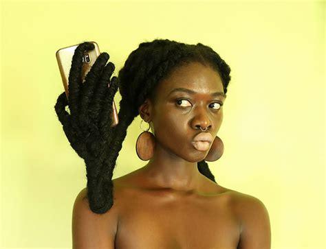 ivorian artist  sculpt  hair