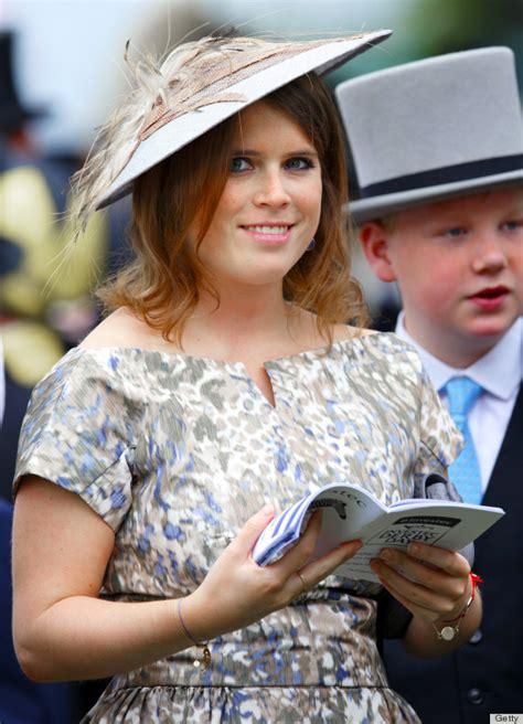 princess beatrice princess eugenie derby hats  fashion