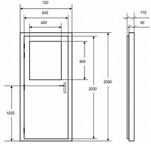 Dimension Porte Standard Exterieur : dimension des portes ~ Melissatoandfro.com Idées de Décoration