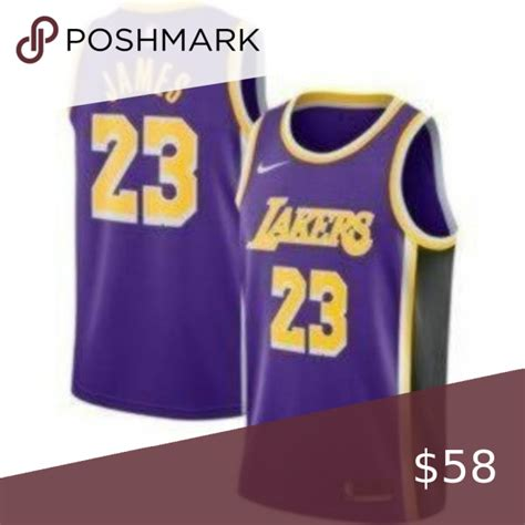LeBron James Los Angeles Lakers Purple NBA Jersey Welcome ...