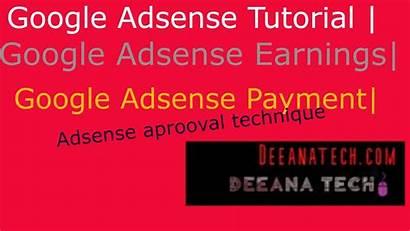 Adsense Google Tutorial Earnings Payment