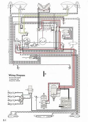 Vw Bug Wiring Harness Diagram 41519 Enotecaombrerosse It