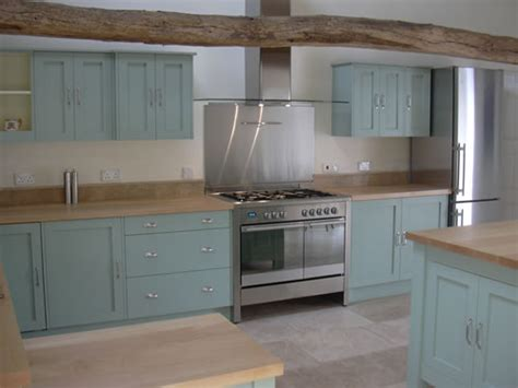 green shaker style kitchen painted shaker kitchens by border county 4039