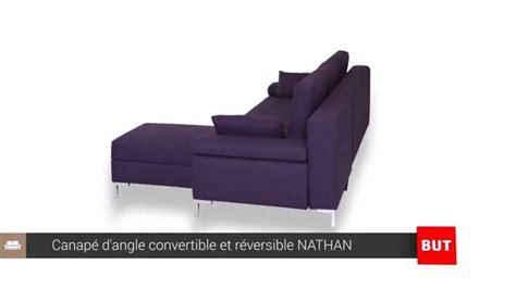 canap but canapé d 39 angle convertible et réversible nathan but