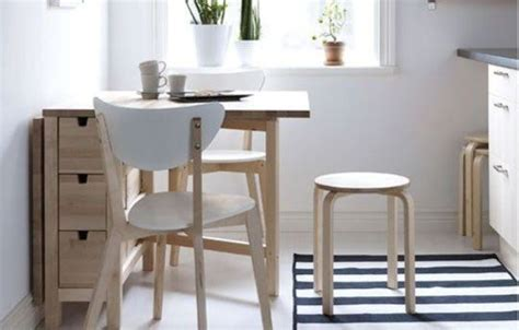 table cuisine ikea pliante 25 ways to use ikea norden gateleg table in décor digsdigs