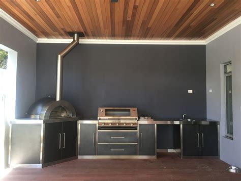 Outdoor Cabinets Perth by Alfresco Kitchens Perth Zesti Woodfired Ovens Alfresco