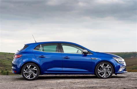 renault blue renault megane hatchback 2016 photos parkers