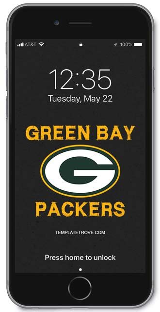 Green Bay Packers Iphone 8 Plus Wallpaper by 2018 2019 Green Bay Packers Lock Screen Schedule For