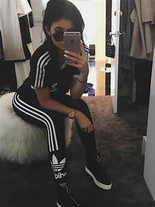 Kylie Jenneru0026#39;s feeling sporty... that is a LOT of Adidas gear! - This Weeku0026#39;s... - Capital