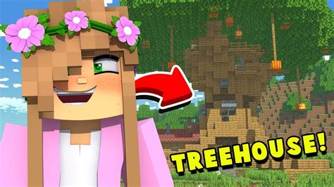 It's pretty hard to smile at someone without feeling the joy. I BUILT A TREEHOUSE ..... IN MINECRAFT! | Minecraft Little ...