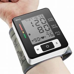 Best Wrist Blood Pressure Monitors In 2019 Reviews