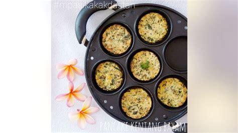 7 resep menu mpasi 9 bulan praktis dan bernutrisi. Resep MPASI Pancake Kentang Bayam (12M+)