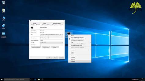 icone raccourci bureau windows 10 comment créer instantanément un point de