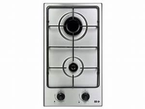 Plaque A Gaz Pas Cher : table de cuisson gaz 2 foyers far dg 12 far vente de plaque de cuisson encastrable conforama ~ Voncanada.com Idées de Décoration