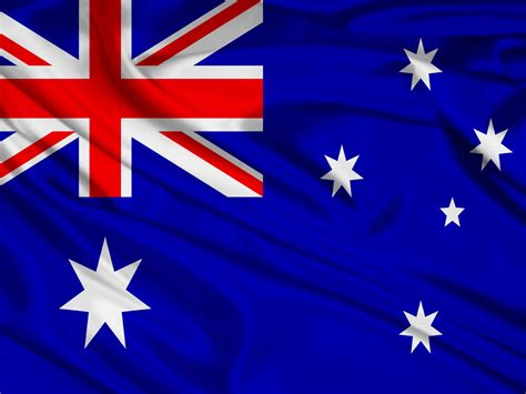 Australian flag painted over brick wall by house painter. 1500x500 Australia Flag Twitter Header Photo