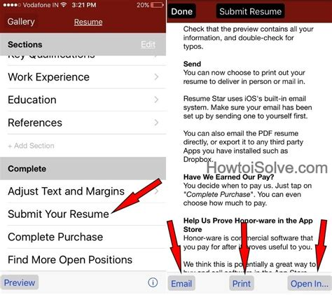 Labeling Second Page Of Resume by How To Make A Resume On Iphone Build Attractive Resume In Minutes
