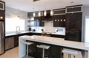 cuisine moderne et design une contemporaine 5870851 With cuisine decoration moderne