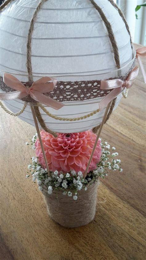 berriesandbuttercup diy tischdeko aus heissluftballon