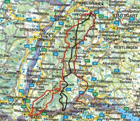wandelgids fernwanderwege schwarzwald zwarte woud
