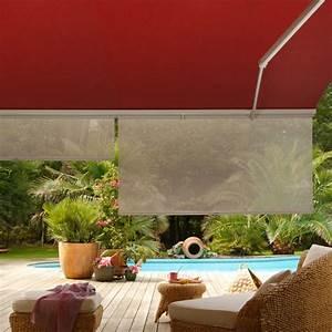 Toile Pour Store Banne : soleil rasant store banne avec lambrequin enroulable ~ Dailycaller-alerts.com Idées de Décoration