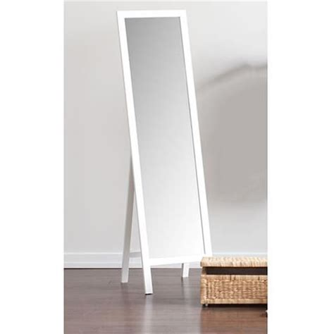 floor length mirror kmart homemaker stand alone mirror white kmart wish list and gift ideas pinterest products