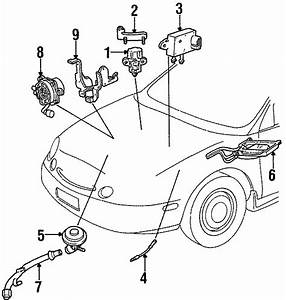 Ford Contour Vapor Canister