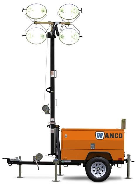 portable trailer lights light towers national trench safety