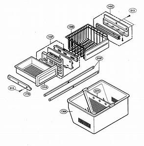 Freezer Parts Diagram  U0026 Parts List For Model 79575553401
