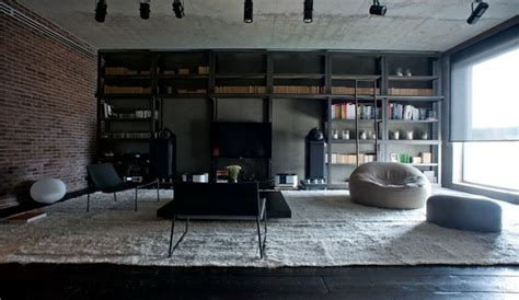 Industrial Loft Apartment In Kiev by Industrial Meets Nature In This Remarkable Loft In Kiev