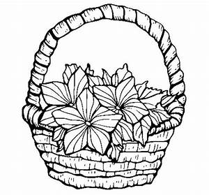 Free Drawing Of Basket Of Flowers, Download Free Clip Art ...