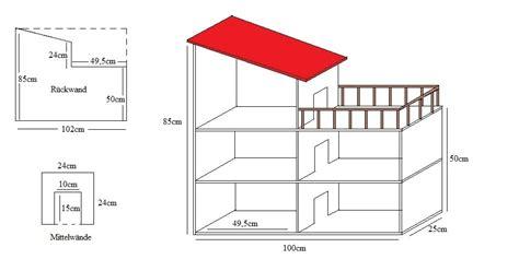 Modellhaus Selber Bauen Anleitung by Bauanleitung Puppenhaus 187 Bauplan