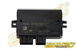vw control unit for trailer towing 1k0907383f