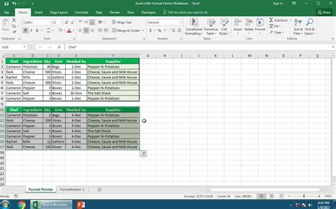 Format Exle by How To Use The Excel Format Painter In 60 Seconds