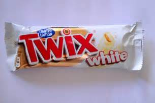 White Chocolate Twix Candy Bars