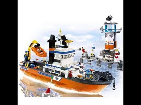 Imagenes De Barcos De Lego by Lego City La Guardia Costera Y La Patrulla Barco Torre