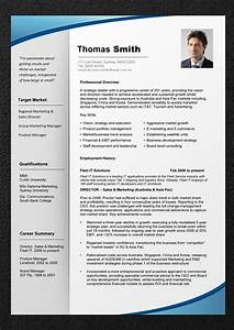 professional resume template resume cv With free professional resume templates