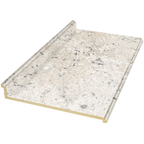 laminate countertops lowes shop vt dimensions formica 6 ft ouro romano etchings