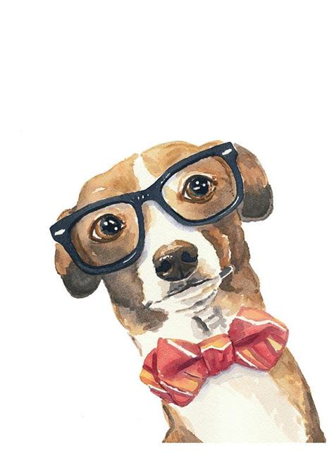 greyhound dog watercolor print italian greyhound nerd