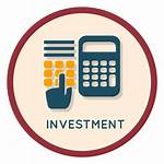 Investment Icon Finance Transparent Investments Return Svg