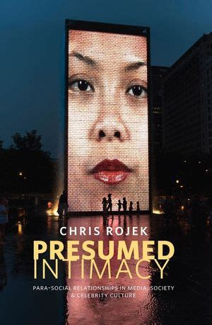 Book Review Presumed Intimacy Para Social Relationships