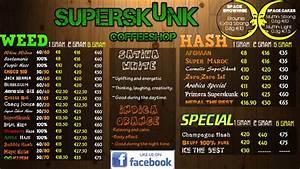 amsterdam bulldog coffee shop menu