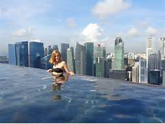 Singapore Hotel With Infinity Pool On Rooftop Image Singapore Was The First Stop On My 2014 Trip To Southeast Asia I Had