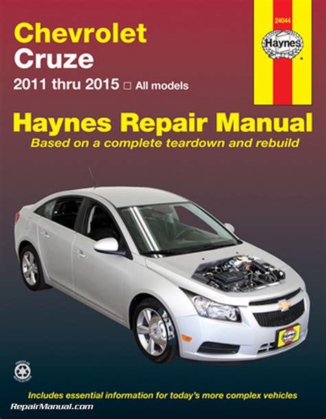chevrolet cruze haynes automotive repair manual