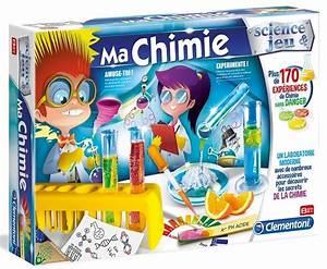 ma chimie 170 experiences kit chimiste clementoni jeu With awesome maison d enfant exterieur 18 activites pour enfants 18 24 mois 1 les activites