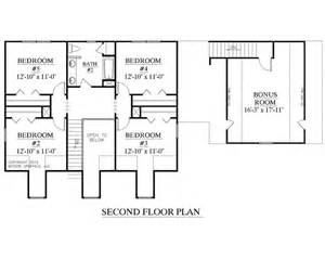 upstairs floor plans house plan 2341 a montgomery quot a quot second floor plan