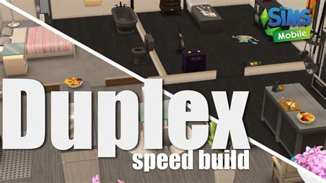 sims mobile speed build   build  duplex