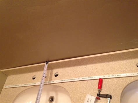 how to fix gap between gap between back splash and wall remodeling diy
